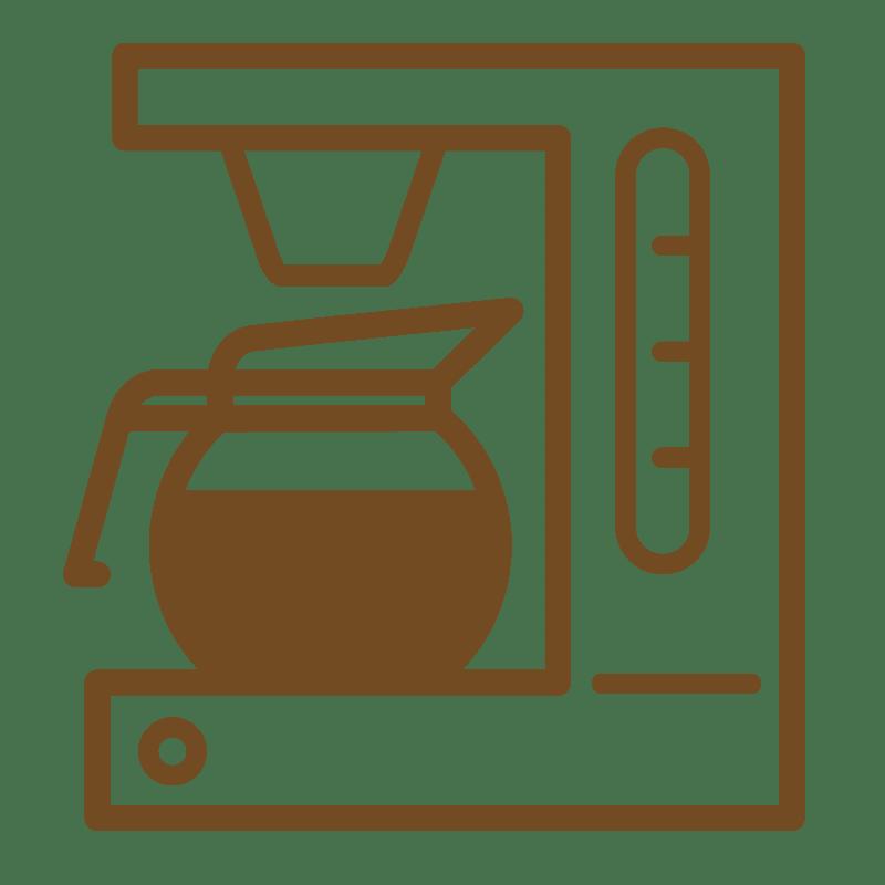 Zubereitung mit einer Kaffeemaschine