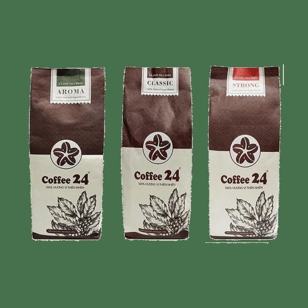 Coffee24 Sonderangebot mit 3 verschiedenen Sorten