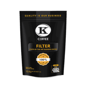 Drip Filter von K-Coffee Frontansicht