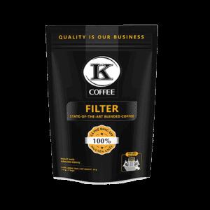 Drip Filter von K-Coffee Frontansicht