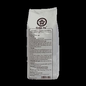 Coffee 24 Espressobohnen 1000g Rückansicht