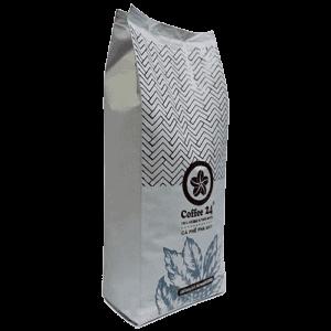 Coffee 24 Espressobohnen 1000g Schräge Frontansicht