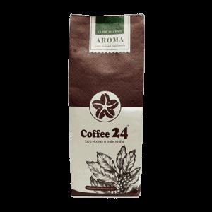 Coffee 24 Aroma Kaffeebohnen 250g Frontansicht