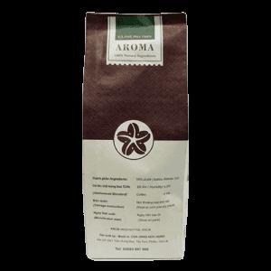 Coffee 24 Aroma Kaffeebohnen 250g Rückansicht
