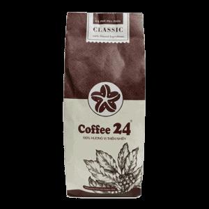 Coffee 24 Classic Kaffeebohnen 250g Frontansicht