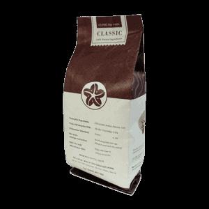 Coffee 24 Classic Kaffeebohnen 250g Schräge Rückansicht