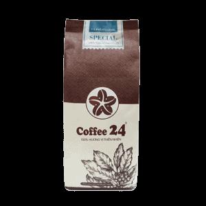 Coffee 24 Special Kaffeebohnen 250g Frontansicht