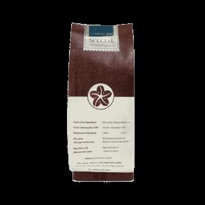 Coffee 24 Special Kaffeebohnen 250g Rückansicht