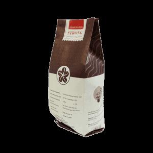 Coffee 24 Strong Kaffeebohnen 250g Schräge Rückansicht