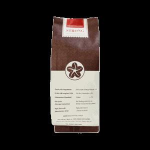 Coffee 24 Strong Kaffeebohnen 250g Rückansicht