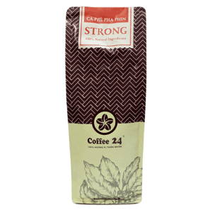 Coffee 24 Strong Kaffeebohnen 500g Frontansicht