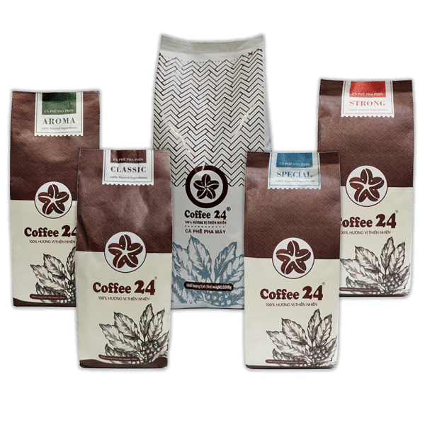 Große Geschenkbox Coffee24 vietnamesischer Kaffee