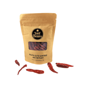 Getrocknete Bird's Eye Chilis aus Vietnam - Peperoncini