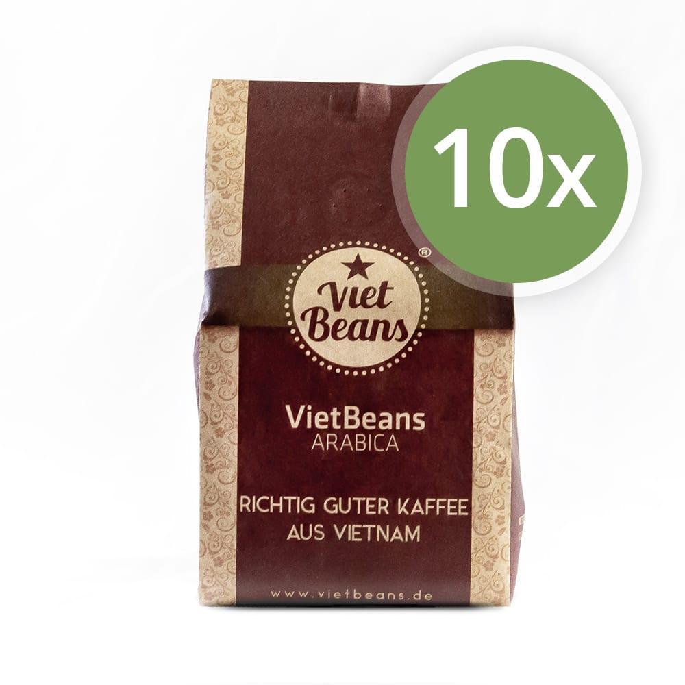 VietBeans Arabica Kaffee 10er Pack