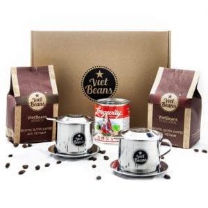 Kaffee-Geschenkset Kaffeebohnen VietBeans