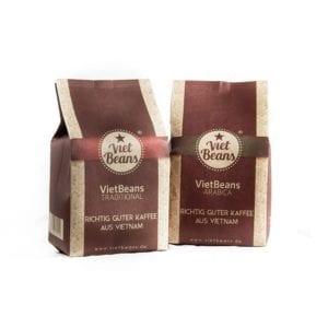 Multipack Kaffee von VietBeans, Arabica & Traditional