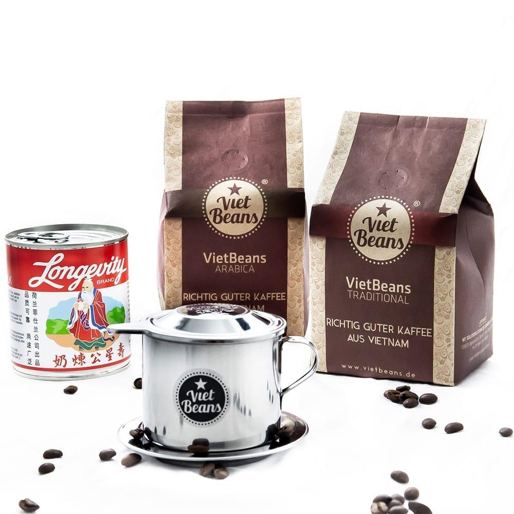 Starterset VietBeans gemahlener Kaffee