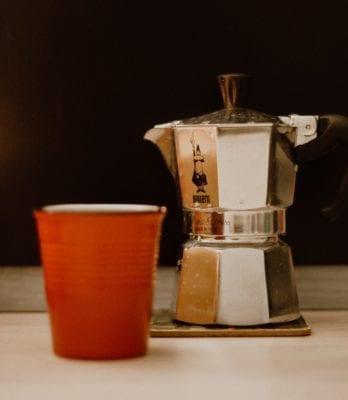 Espressokocher von Bialetti – ein echter Design-Klassiker.