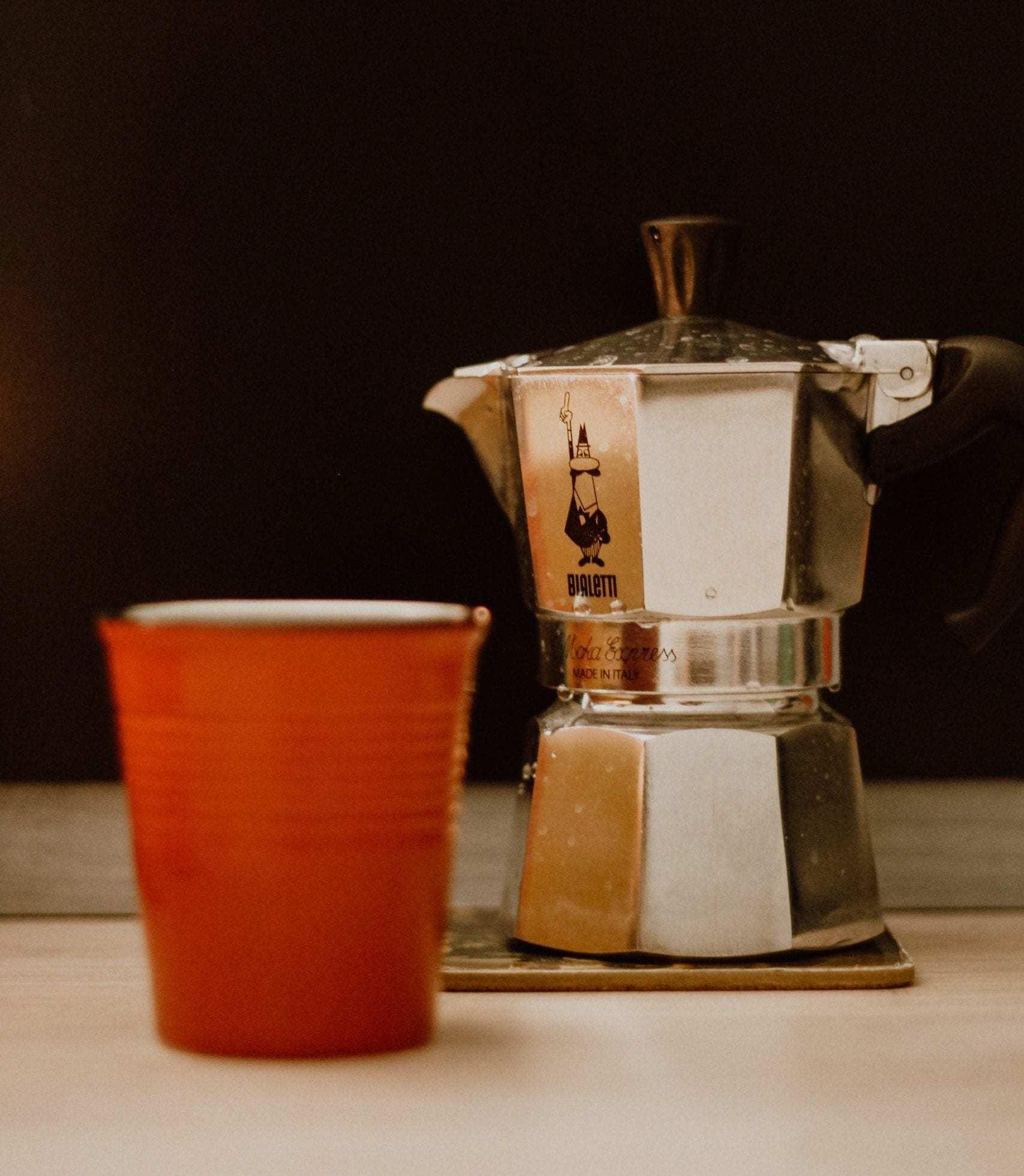 Espressokocher als Camping Kaffeekocher