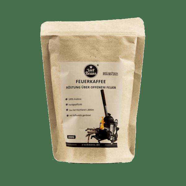 VietBeans Feuerkaffee - Über offenem Feuer gerösteter Kaffee
