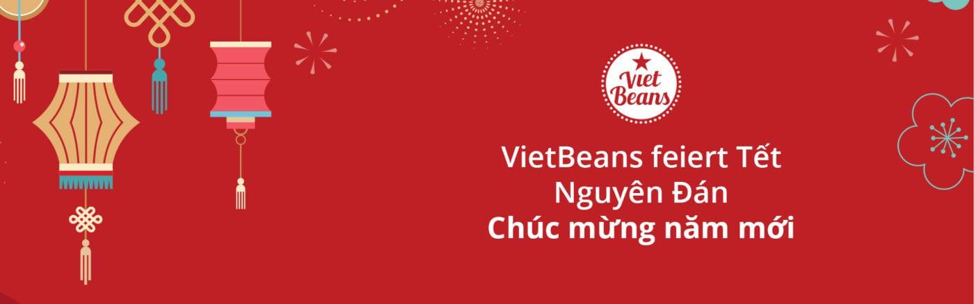 Chúc mừng năm mới – VietBeans feiert das Tet-Fest
