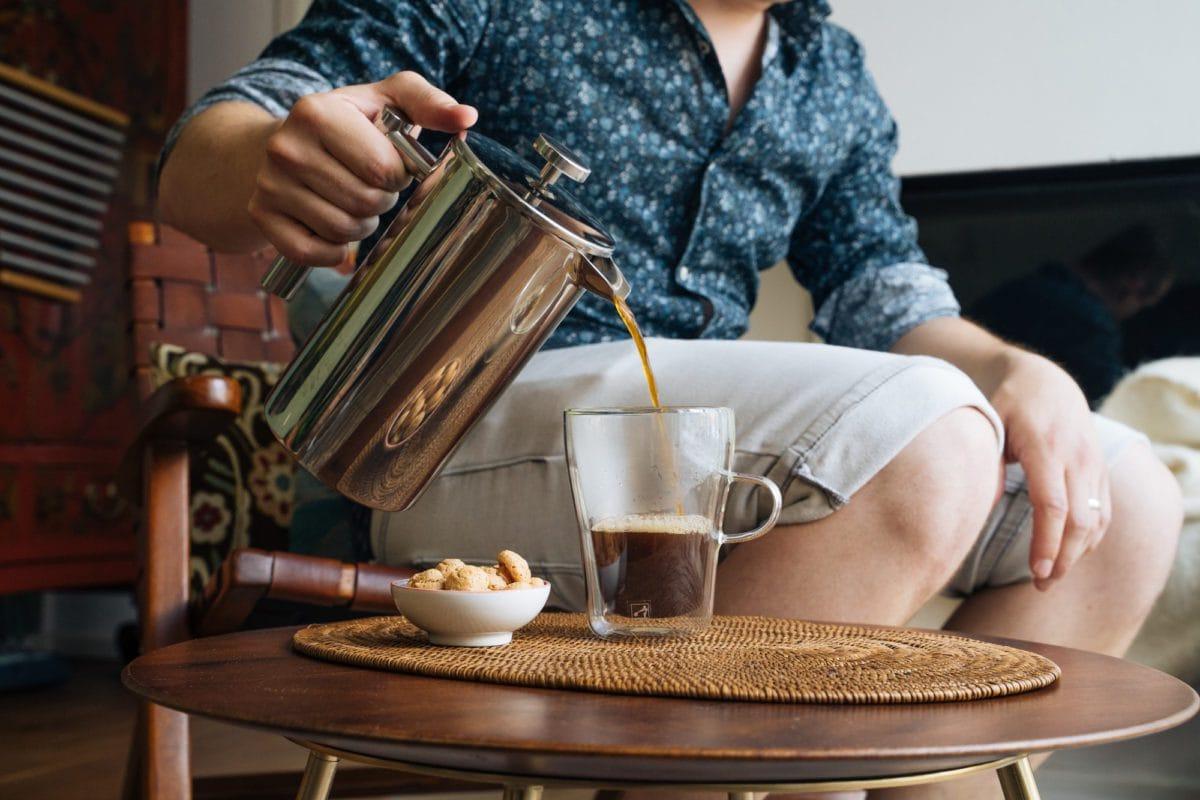 French Press. Nicht nur für Zuhause, auch als Camping Kaffeekocher