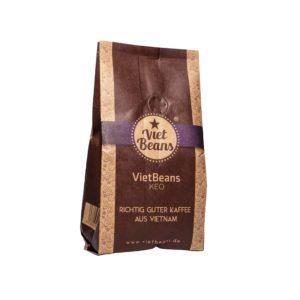 VietBeans KEO – Schokoladiger Kaffee – Geröstet in Butter und Rum – 80/20 Arabica/Robusta