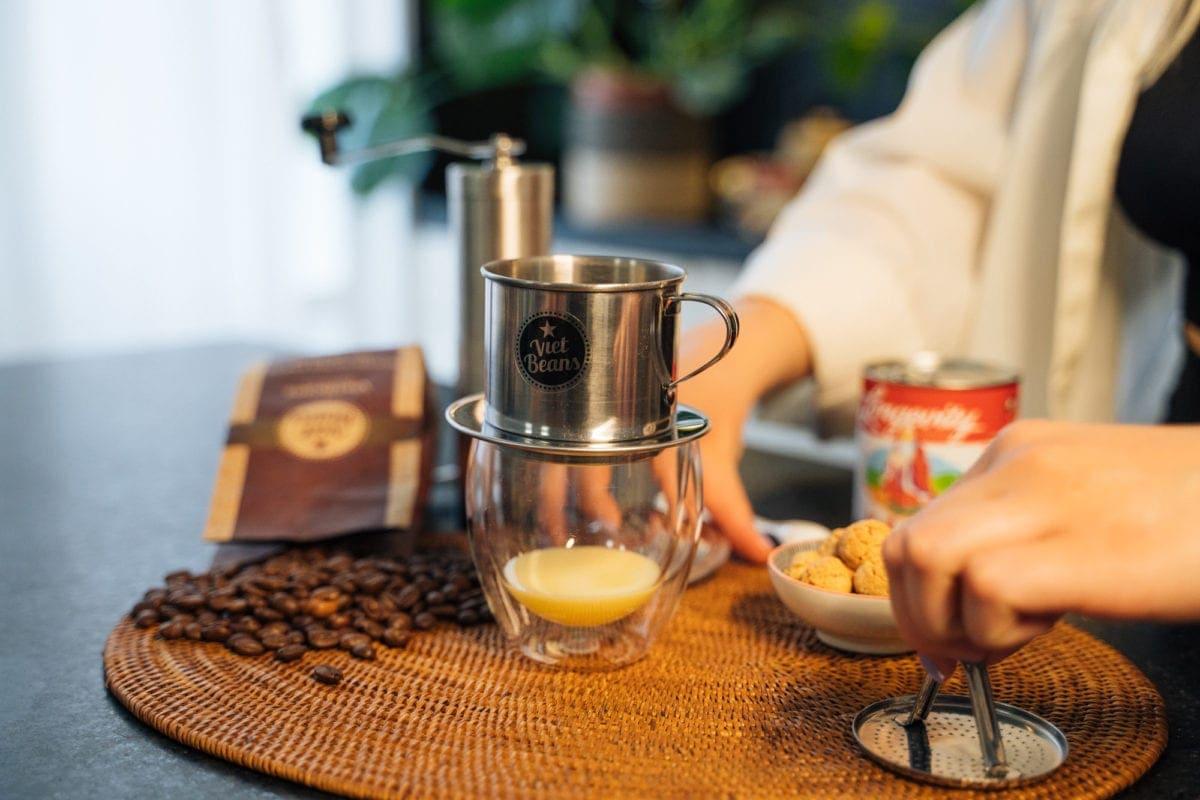Vietnamesischer Kaffee Zubereitung Schritt 3