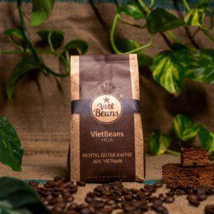 VietBeans HOA – Ausgewogener Kaffee mit fruchtigen Aromen – 70/30 Arabica/Robusta