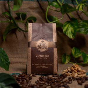 VietBeans 100% Robusta – Kaffeespezialität aus Vietnam – Kräftig und würzig