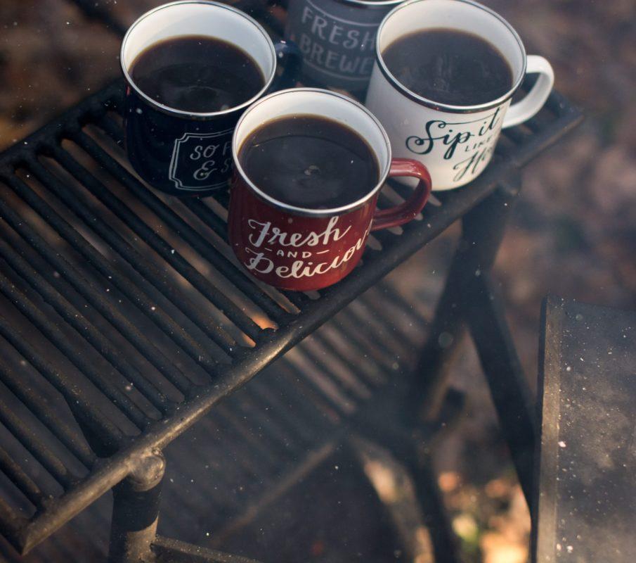 Instant Kaffee als Camping Lösung für unterwegs